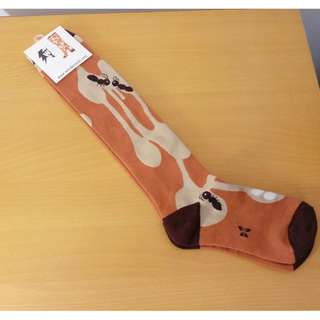 【韓國品牌】wonder socks 3D長版棉襪-螞蟻