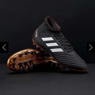 Adidas Predator 18.3AG Black Soccer Boots US 10.5