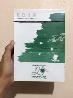 STARBUCKS PLANNER (PRICES ARE HIGHLY NEGOTIABLE)