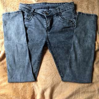 Highwaist Denim Maong Pants 1