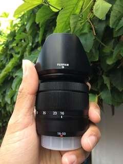 Fuji Lens Fujinon XC 16-50 hitam mulus