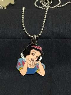 迪士尼白雪公主頸鍊 Disney Snow White Princess Necklace (Brand new 全新)