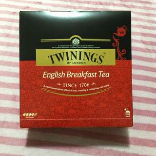 Twinings of London English Breakfast Tea 唐寧 英倫早餐茶 2g*100入