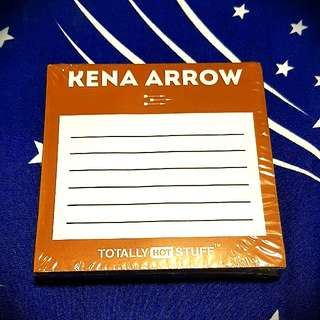 Kena Arrow Notepad  BNIP