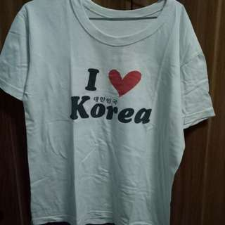 Kaos I love korea