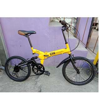 DREADNOUGHT FOLDING BIKE (FREE DELIVERY AND NEGOTIABLE!)