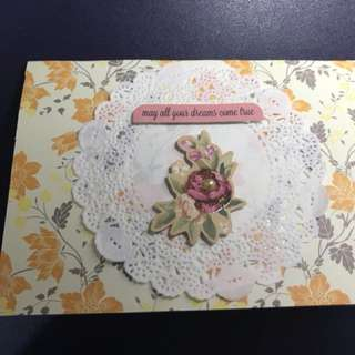 Handmade Inspirational Pop-Up Card