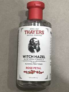 Used Thayers Witch Hazel - Rose Petal
