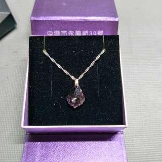 義大利925紫水晶項鍊
