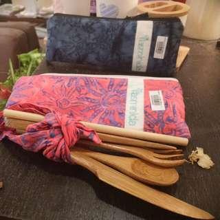 巴里島療癒環保竹系列外出攜帶組