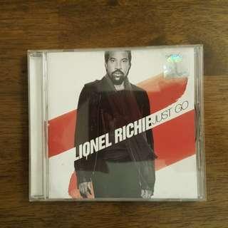 LIONEL RICHIE - just go music cd