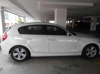 BMW 118i white
