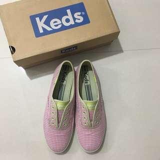 Keds Laceless Gingham Shoes