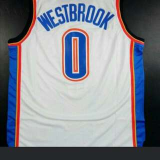 Russell Westbrook NO.0  球衣