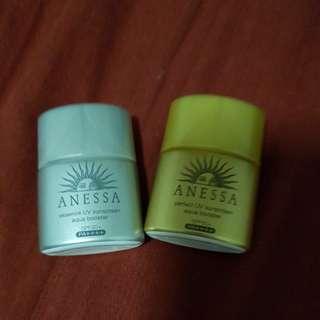 Anessa travel size sunscreen
