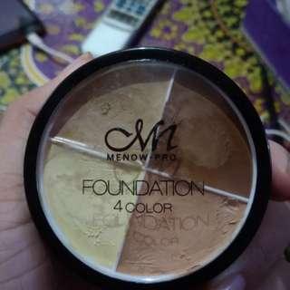 Menow foundation 4 color