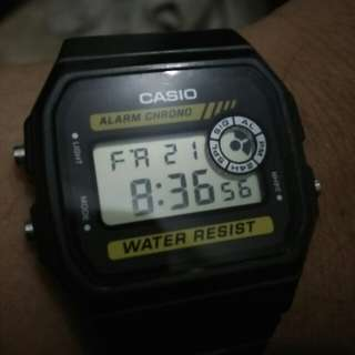 Casio water resist