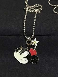 迪士尼米妮頸鍊 Disney Minnie Mouse Necklace (Brand new 全新)