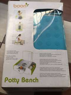 Potty Bench with side storage -Boon