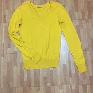 Terranova yellow cardigan