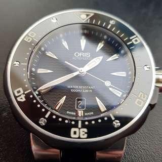 Oris pro diver date 49mm