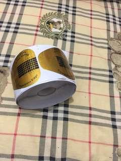 🚚 光療延長紙托 紙模