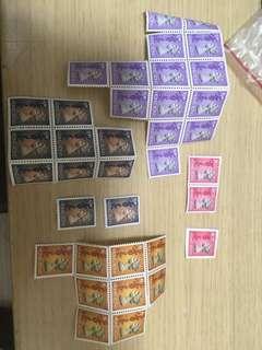 好多女皇頭郵票