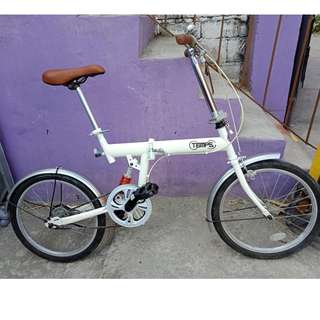 TEMPS FOLDING BIKE (FREE DELIVERY AND NEGOTIABLE!)