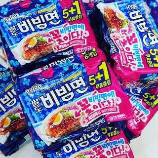 韓國拌麵 櫻花🌸小魚餅
