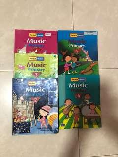 Music Pri 2-6 book each $5