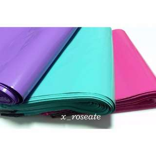 Glossy Pink ; Purple ; Turquoise Polymailers