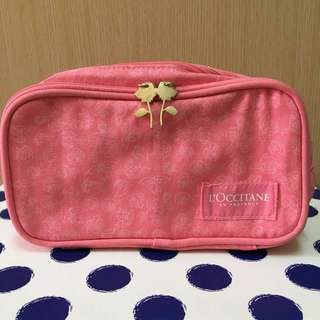 loccitane makeup bag 限量版