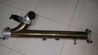 Electronic exhaust control valve