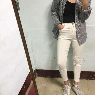 Lulus 超彈力白褲