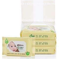 小獅王辛巴 EDI超純水嬰兒柔濕巾組合包(20抽x3包)
