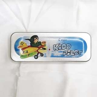 Kidd Pilot Pencil Box by Pilot Pen