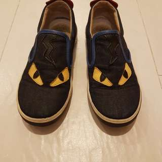 Fendi Kids Loafers Monster Original