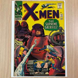 MARVEL COMICS X-Men #16-3rd Appearance of the Sentinels (Serious Buyers Only)