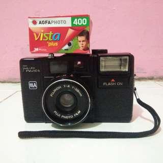 Camera Analog Flash Fujica MA + Roll Film