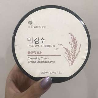 TFS Rice Water Bright Cleansing Cream