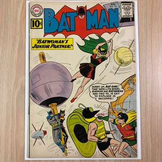 DC COMICS Batman #141-2nd Appearance of Bat-Girl|1st Appearance of Clockmaster (Serious Buyers Only)
