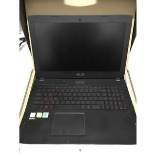 便宜賣 接近全新 ASUS 華碩 FX502VM 電競筆電 I7-6700Hq gtx1060