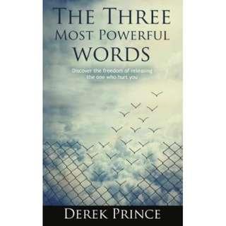 [eBook] The Three Most Powerful Words - Derek Prince