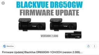 BlackVue DR650GW