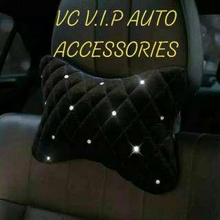 Crystal car pillows full set