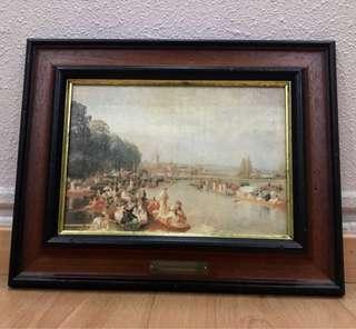 Vintage Painting (HENLLY REGATTA 1884)Walter field 1837-1901