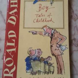 Boy Tales of Childhood by Roald Dahl