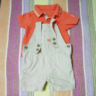 Mothercare Romper & Tshirt