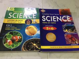 Upper Primary Science Assessment Books