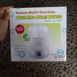 Sterilizer and steam station